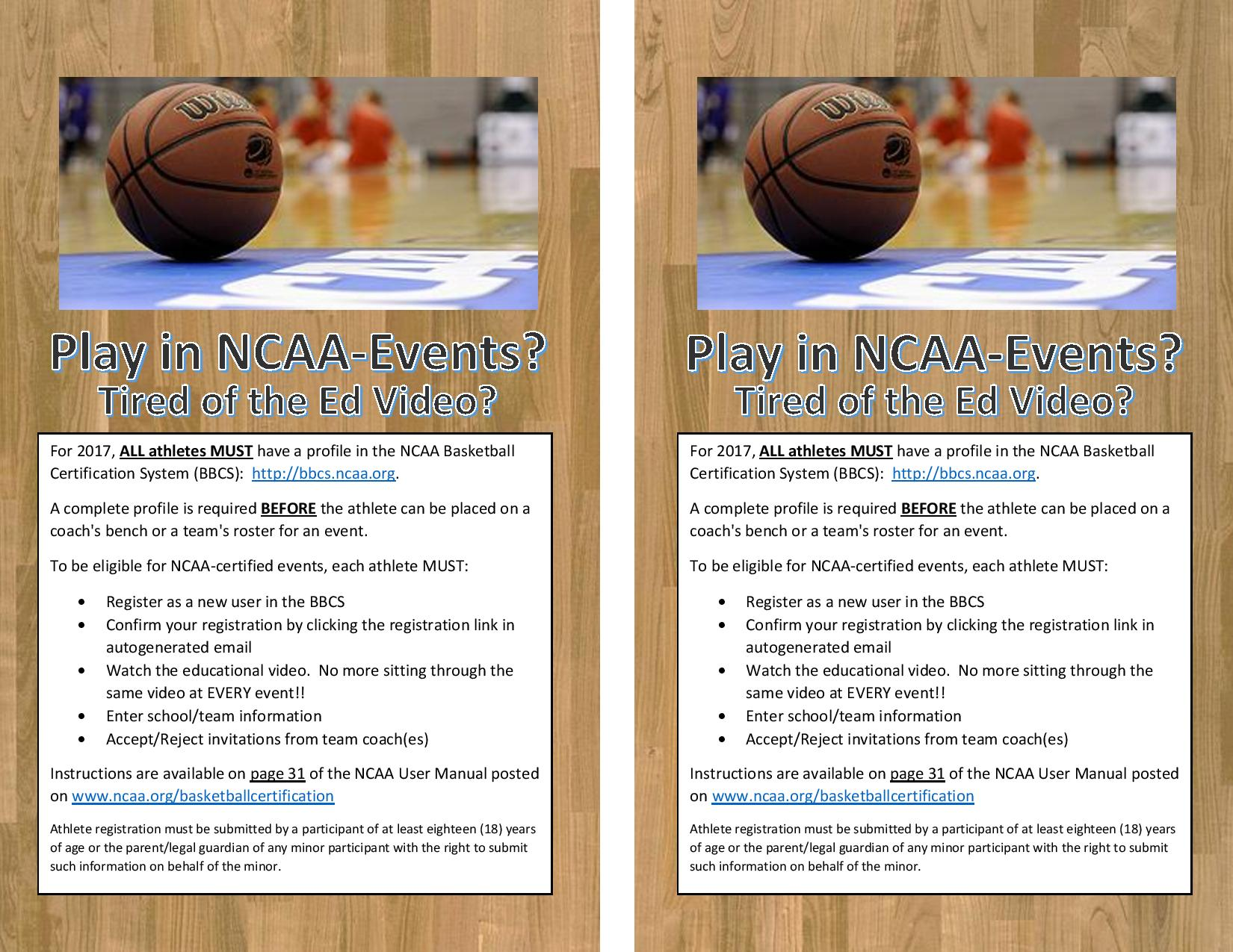 Ncaa Certification Very Important Mid Michigan Lakers