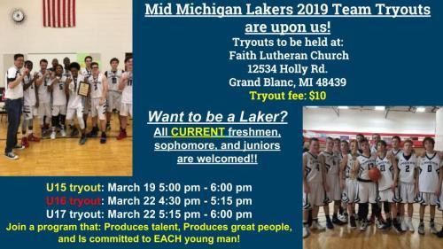 MML 2019 tryouts
